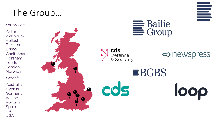 Bailie Group locations