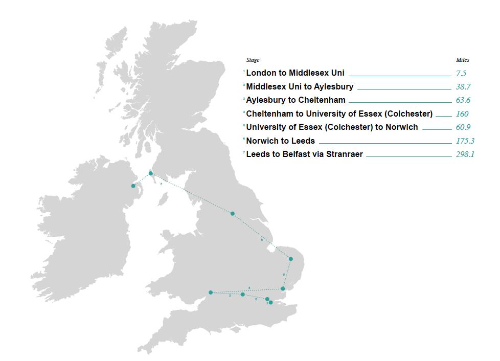 CDS tour map